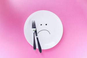 empty plate disordered eating